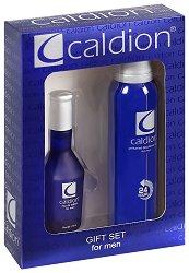 Подаръчен комплект за мъже - Caldion - Парфюм и дезодорант -