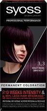 """Syoss Color Classic Permanent Coloration - Трайна крем боя за коса от серията """"SalonPlex"""" - дезодорант"""