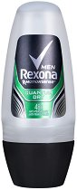 Rexona Men Quantum Dry Anti-Perspirant - Ролон дезодорант против изпотяване за мъже - четка