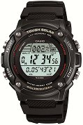 "Часовник Casio Collection - Tough Solar W-S200H-1BVEF - Oт серията ""Casio Collection: Tough Solar"""