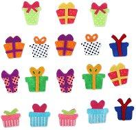 Фигурки от филц - Подаръци - Комплект от 18 броя