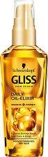 Gliss Daily Oil Elixir - Еликсир за суха и увредена коса - продукт