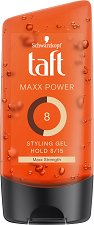 Taft Looks Maxx Power Gel - Гел за коса за максимална фиксация -