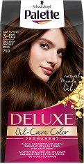 Palette Deluxe Oil-Care Color Permanent - Подхранваща трайна крем боя за коса - шампоан