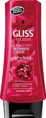 Gliss Ultimate Color Conditioner - Балсам за боядисана и изрусена коса - шампоан