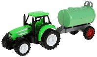 Трактор с цистрена - Детска играчка - творчески комплект
