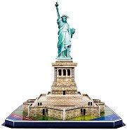Статуята на свободата, Ню Йорк - 3D пъзел - пъзел