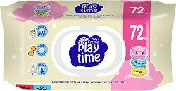 Бебешки мокри кърпички - Play time -