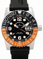 "Часовник Zeno-Watch Basel - Quartz GMT Points (Dual Time) 6349Q-GMT-a1-5 - От серията ""Airplane Diver"""