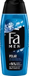 Fa Men Xtreme Polar Body & Hair Shower Gel - шампоан