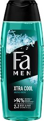 Fa Xtra Cool Body & Hair Shower Gel - шампоан
