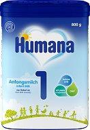 Мляко за кърмачета: Humana 1 - Опаковки от 300 и 600 g за бебета от 0 до 6 месеца - продукт