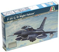 Военен самолет - F-16 C/D Night Falcon - Сглобяем авиомодел -