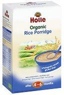 Инстантна био безмлечна каша - Ориз - Опаковка от 250 g за бебета над 4 месеца - продукт