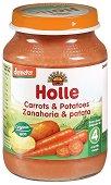 Пюре от био моркови и картофи -