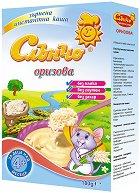 Слънчо - Инстантна безмлечна каша с ориз - Опаковка от 180 g за бебета над 4 месеца - продукт