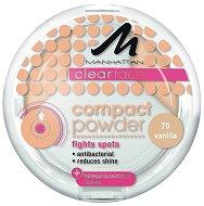 Manhattan Clearface Compact Powder - Антибактериална компактна пудра - гланц