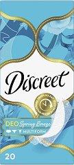 Discreet Deo Spring Breeze - Ежедневни дамски превръзки в опаковки от 20 ÷ 100 броя - продукт