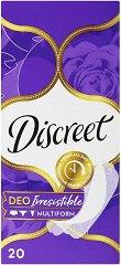 Discreet Deo Irresistible - Ежедневни дамски превръзки в опаковки от 20 ÷ 60 броя -