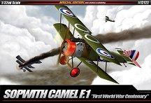 Военен самолет - Sopwith  F.1 Camel - Сглобяем авиомодел -