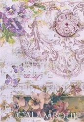 "Декупажна хартия - Симфония 168 - Серия ""Digital Collection Mulberry"""