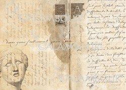 """Декупажна хартия - Глава и писмо 21 - Серия """"Digital Collection Mulberry"""""""