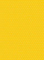 """Картон за скрапбукинг - Жълт на точки 01 - Серия """"Happy Papers"""""""