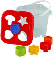 Кофичка с форми за сортиране - Образователна играчка -