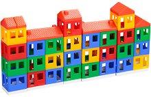 Малък град - Детски конструктор - играчка