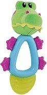 Дъвкалка с охлаждащ ефект - Fun Pal: Алигатор - За бебета над 4 месеца - прибори