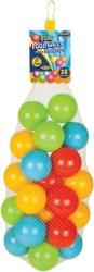 Пластмасови топки - С диаметър 7 cm - играчка