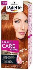 Palette Perfect Care Color - Безамонячна трайна крем боя за коса - мляко за тяло