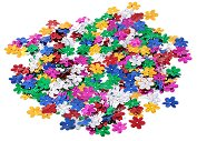 Декоративни фигурки - Разноцветни цветя - Опаковка от 15 g
