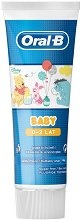 Oral-B Baby 0 - 2 Years Fluoride Toothpaste - дамски превръзки