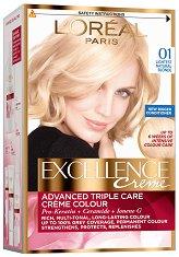 L'Oreal Excellence Creme - Трайна крем боя за коса със защитна технология -