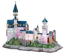 Замъкът Нойшванщайн, Бавария - Светещ 3D пъзел - пъзел