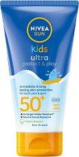 """Nivea Kids Swim & Play Sun Lotion - Детски слънцезащитен лосион от серията """"Sun"""" -"""
