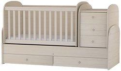 Трансформиращо се детско легло - Baby Junior - Цвят ясен -