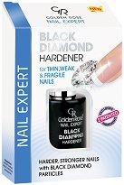 """Golden Rose Nail Expert Black Diamond Hardener - Заздравител за нокти с черен диамант от серията """"Nail Expert"""" -"""