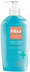 Mixa Anti-Imperfection Soapless Purifying Cleansing Gel - гел