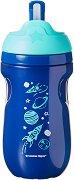 """Неразливаща се термо-чаша със сламка - Insulated Straw Tumbler 260 ml - За бебета над 12 месеца от серията """"Explora"""" - продукт"""