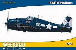 Военен самолет - F6F-5 Hellcat - Сглобяем авиомодел - макет