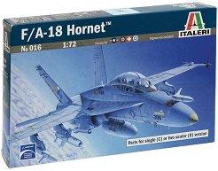 Военен самолет - F/A-18 Hornet Wild Weasel C/D - Сглобяем авиомодел - макет