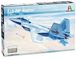 Военен самолет - F/A-22 Raptor - Сглобяем авиомодел - макет