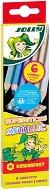 Цветни моливи - Kinderfest Metallic - Комплект от 6 броя