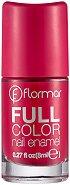 Flormar Full Color Nail Enamel - Лак за нокти - крем