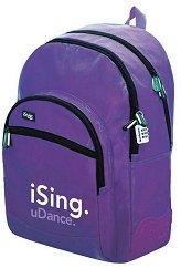 Ученическа раница - iSing Purple - играчка