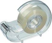 Диспенсър за тиксо - Комплект с ролка прозрачно тиксо