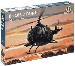 Военен хеликоптер - Bo 105 / PAH-1 - Сглобяем авиомодел -