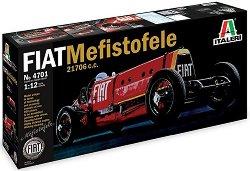 Състезателен автомобил - FIAT Mefistofele 21706 c.c. - Сглобяем модел -